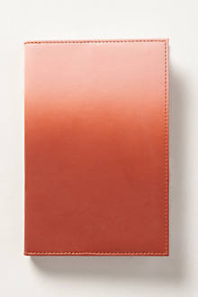 Ombre-Washed Leather Journal
