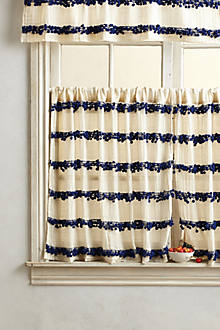 Swing Stripes Cafe Curtain