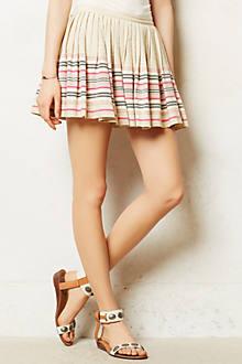 Socorro Striped Skirt