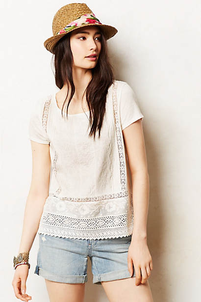 Lace Collage Tee