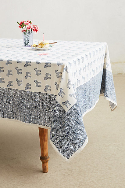 Sale alerts for Anthropologie Serengeti Tablecloth - Covvet