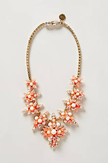 Threaded Coral Necklace