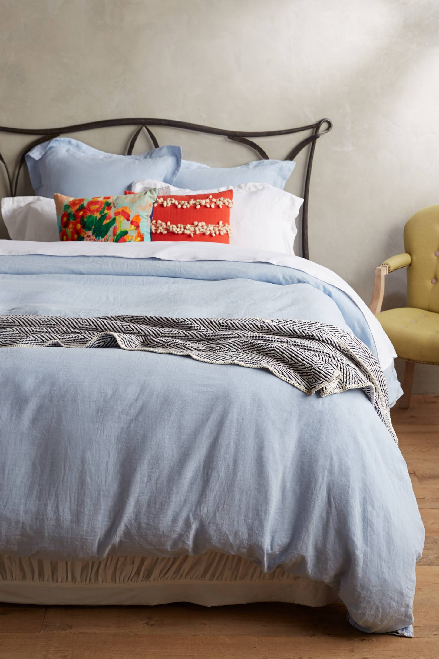 Soft-Washed Linen Duvet