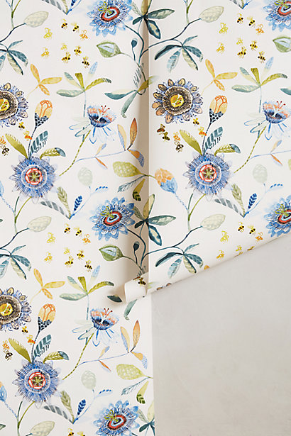Sale alerts for Anthropologie Garden Buzz Wallpaper - Covvet