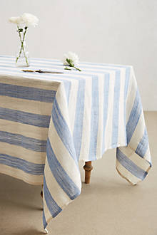 Awning Stripe Tablecloth