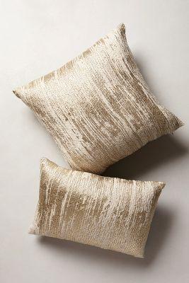Plaited Metallics Pillow