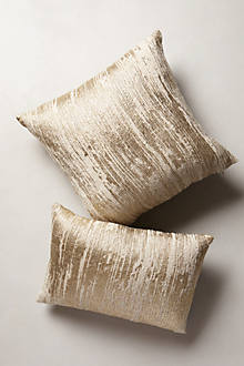 Plaited Metallics Pillow