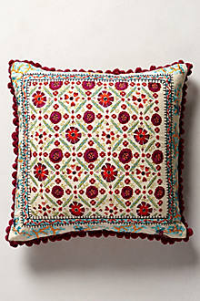 Embroidered Condesa Pillow