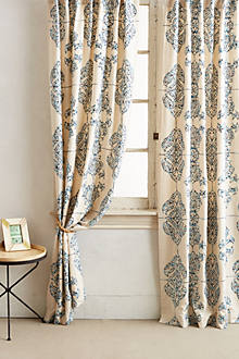 Embroidered Medina Curtain