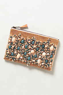 Fayruz Jeweled Clutch