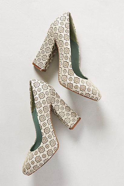 Sale alerts for Anthropologie Surface Figure Heels - Covvet