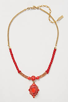 Tibetan Cherry Necklace
