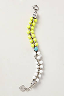 Pearled Colorblock Bracelet