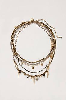 Golden Bramble Necklace