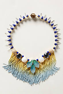 Sparked Fringed Necklace