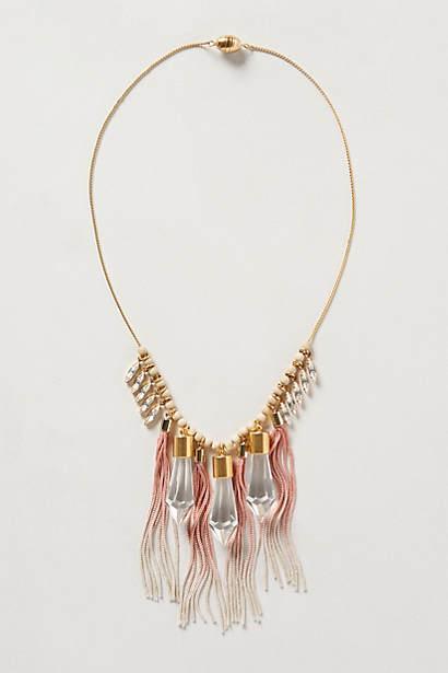 Rose Prism Necklace