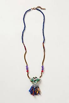 Passementerie Pendant Necklace