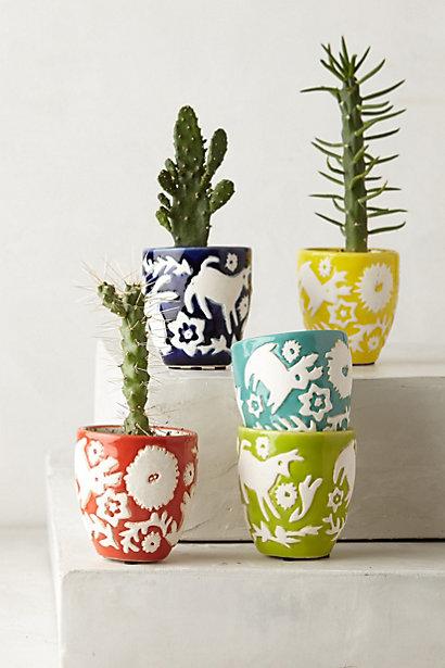 Sale alerts for Anthropologie Mini Concha Garden Pots - Covvet