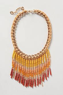 Marmalade Fringe Necklace