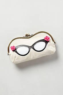 Flower Child Painted Eyeglass Case