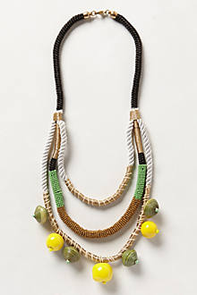 Jackfruit Layered Necklace