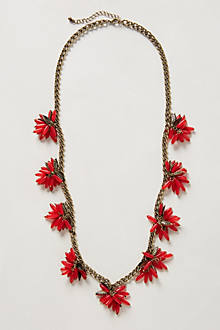 Ixora Blossoms Necklace