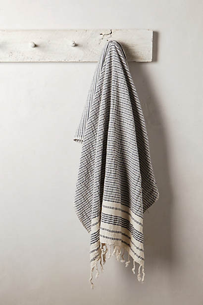 Crinkled Stripe Towel