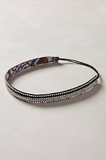 Sparkled Chevron Headband
