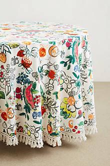 Vine Fruits Tablecloth