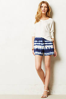 Azure Tie-Dye Shorts