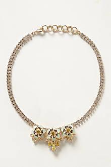 Spring Flash Bib Necklace