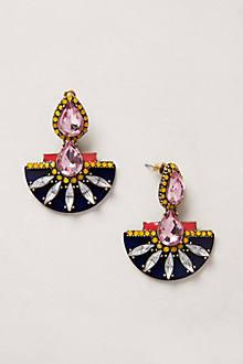 Etruscan Petal Earrings
