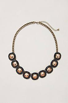 Caviar Cabochon Necklace