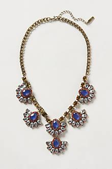 Fanned Petal Necklace
