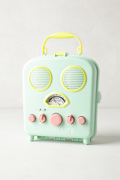 Sale alerts for Anthropologie Sunny Life Beach Radio - Covvet
