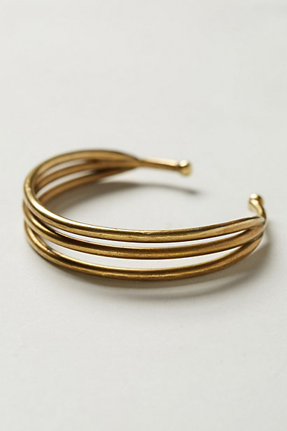 Sale alerts for Anthropologie Thrice Slice Cuff - Covvet