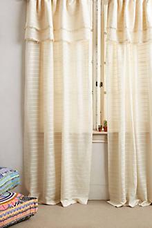 Pom Ruffle Curtain