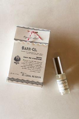 Barr-Co. Mini Eau De Parfum