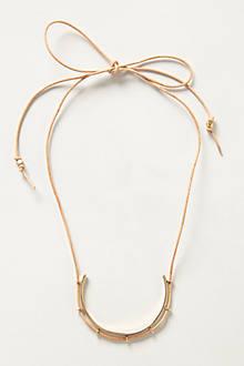 Braced Pendant Necklace