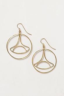 Trumpet Lily Earrings