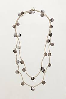 Coin-Fringe Necklace
