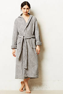Rose City Hooded Bathrobe