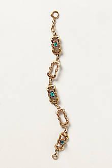 Vintage Deco Link Bracelet