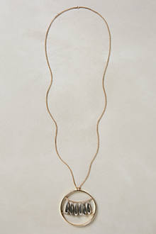 Lluvia Pendant Necklace