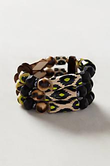 Stacked Ikat Bracelet