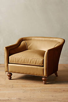 Premium Leather Holloway Armchair