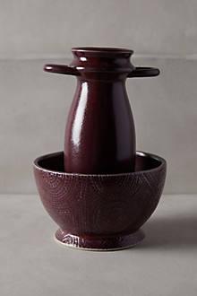 Sculpted Artifact Vase