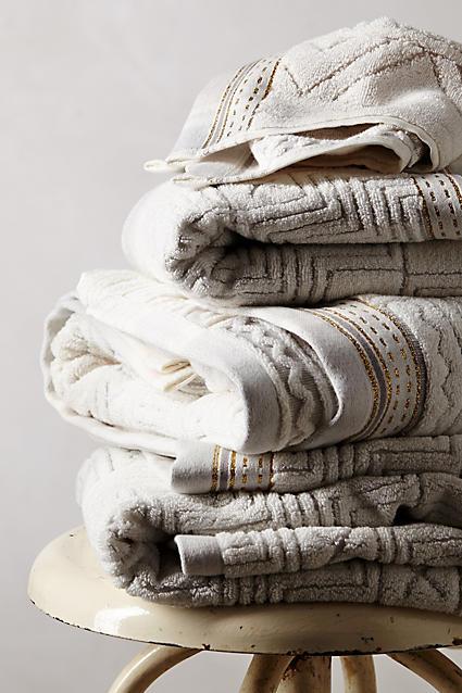 Exotic african safari and animal print towels