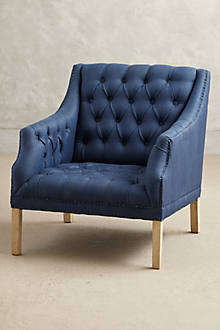 Apsley Sloped Armchair - anthropologie.com
