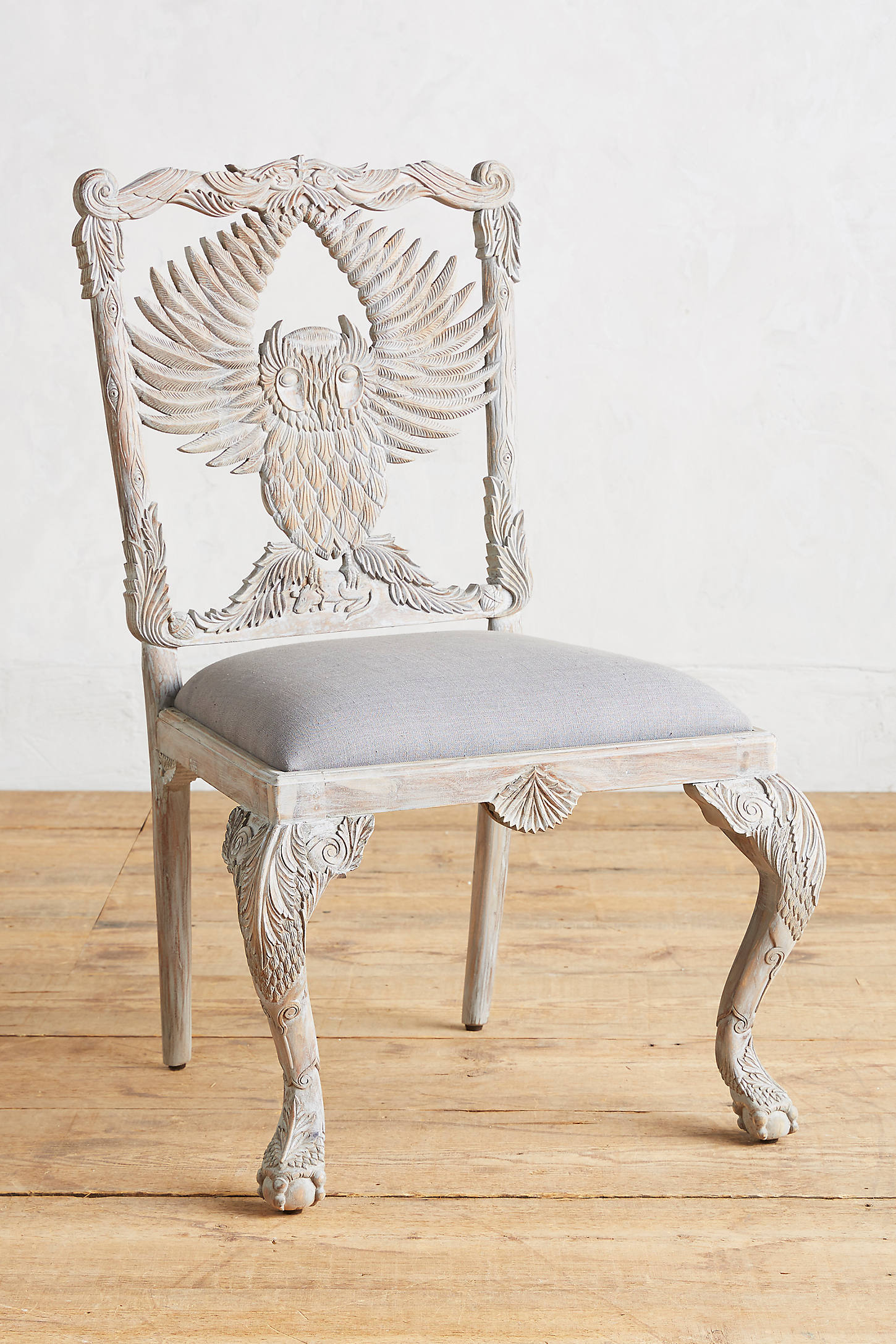 Handcarved Menagerie Armchair